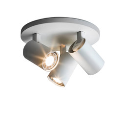 Ascoli Triple Round White | Ceiling-mounted spotlights | Astro Lighting
