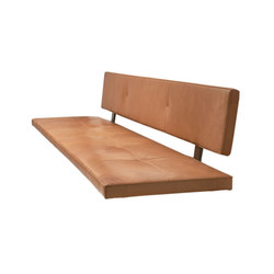 Lax | Upholstered Bench Wall-Mounted | Panche | more