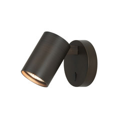 Ascoli Single Switched Spotlight Bronze Effect | Wall lights | Astro Lighting
