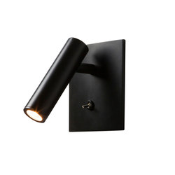 Enna LED Square Switched Black | Wall-mounted spotlights | Astro Lighting