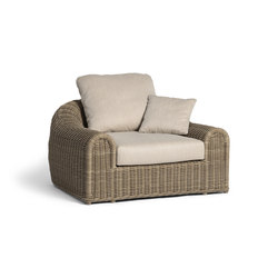 River 1S | Garden armchairs | Manutti