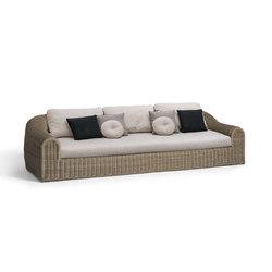 River 3 seat | Sofas de jardin | Manutti