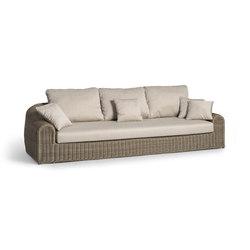 River 3S | Garden sofas | Manutti