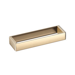 ACCESSORIES | Profile shelf 394 x 120 mm | Greige | Towel rails | Armani Roca