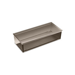 Container for profile shelf and furniture | Beauty accessory storage | Armani Roca