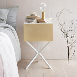NEB Bedside Table | Storage Boxes 01 | Mesillas de noche | No Early Birds