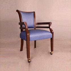 Wood Dining Chair with Armrest | Chairs | BK Barrit