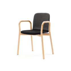 Two Tone Armchair | Chaises de restaurant | Discipline