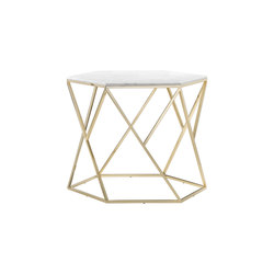 Hexagonal Coffee Table | Lounge tables | Giulio Marelli