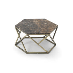 Hexagonal Coffee Table | Tables basses | Giulio Marelli