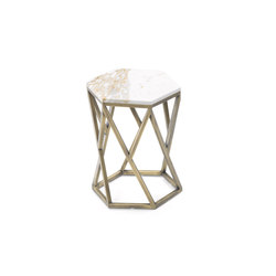 Hexagonal Side Table | Lounge tables | Giulio Marelli