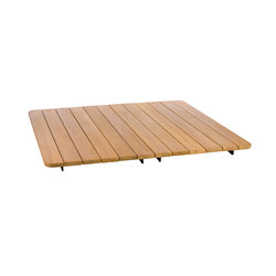Pal Teak Top Table | Tables basses | Point