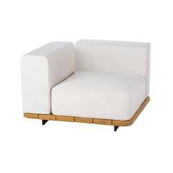 Pal base 92 x 92 + asiento single + resp single + brazo derecho | Sillones de jardín | Point