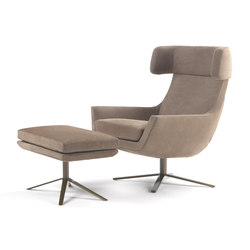 Joy swivel armchair | Sillones lounge | Marelli