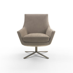 Joy swivel armchair | Lounge chairs | Marelli