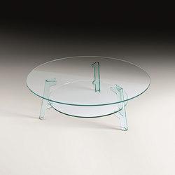 FLUTE | Lounge tables | Fiam Italia