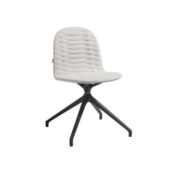 Template Chair Metal Unica Base | Sillas de conferencia | sixinch