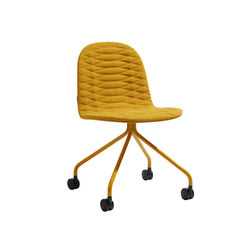 Template Chair Metal Base Wheels | Sedie multiuso | sixinch