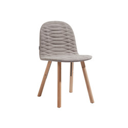 Template Chair Wooden Base | Chaises de restaurant | sixinch