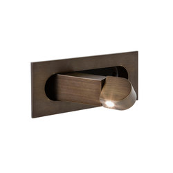 Digit Bronze Plated | Lampade parete | Astro Lighting
