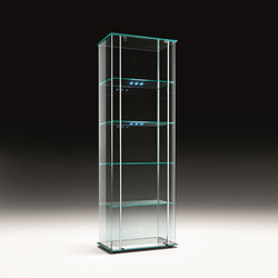 MILO DAY LED | Display cabinets | Fiam Italia