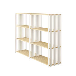 Rebar Foldable Shelving System Highboard 3.3 | Bath shelving | Joval