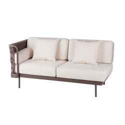 Weave Modular 2 right arm | Garden sofas | Point