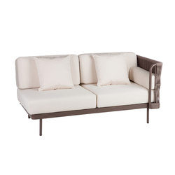 Weave Modular 2 left arm | Garden sofas | Point