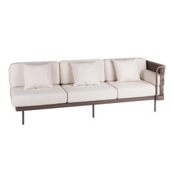 Weave Modular 3 left arm | Garden sofas | Point