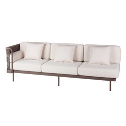 Weave Modular 3 right arm | Sofas de jardin | Point