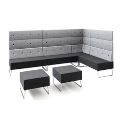 Abaco+ | Waiting area benches | Metalmobil
