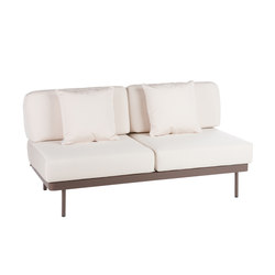 Weave Modular 2 with no arms | Garden sofas | Point