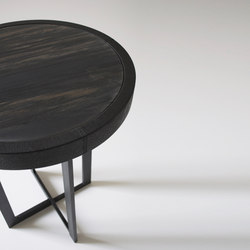 Point Noir Furniture | Side tables | Van den Weghe