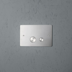 Bits & Pieces | Plate for dual flush Geberit | Klosettarmaturen | Quadro