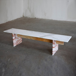 Marble Bench | Waiting area benches | Van den Weghe