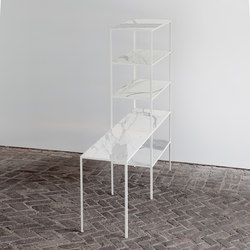 Rack + Table Marble | Mesas consola | Van den Weghe