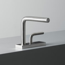 Levo | Stainless steel Wash Basin Mixer | Wash basin taps | Quadrodesign