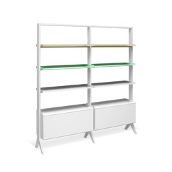 SCALA Regalsystem | Shelving systems | Müller Möbelfabrikation