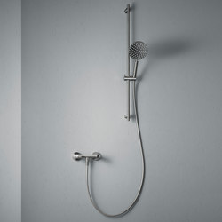 Ono | Wall mounted external shower set | Shower controls | Quadrodesign
