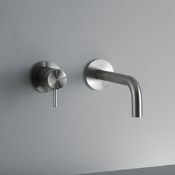 Ottavo | Wall mounted mixer with spout | Waschtischarmaturen | Quadro