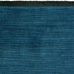 Shibori - Stripes Emerald | Formatteppiche | REUBER HENNING