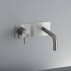 Ottavo | Wall mounted mixer with spout | Grifería para lavabos | Quadro