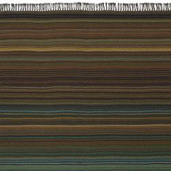Flatweave - Stripes Woodland | Formatteppiche / Designerteppiche | REUBER HENNING