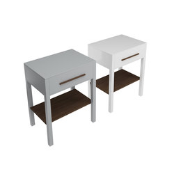 Tratto - Free standing wooden forniture with one drawer | Vanity units | Olympia Ceramica