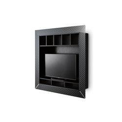 NAPOLEON | Multimedia cabinets | Fiam Italia