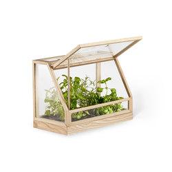 Greenhouse Mini | Ash | Pflanzgefäße | Design House Stockholm