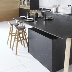 Silestone® Eternal Charcoal Soapstone | Kitchen countertops | Cosentino