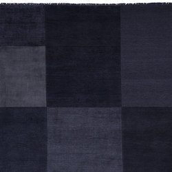 Abstract - Kasimir Night Blue | Rugs | REUBER HENNING