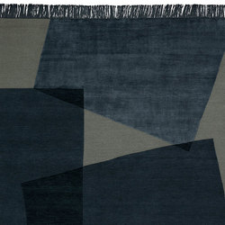 Abstract - Max Natural Blue | Rugs | REUBER HENNING
