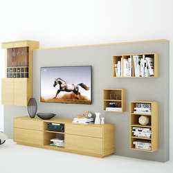 Wally living room | Wall storage systems | Sixay Furniture